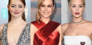 Brie Larson Emma Stone Jennifer Lawrence