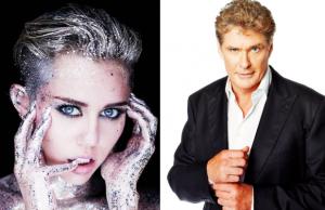 Miley Cyrus David Hasselhoff