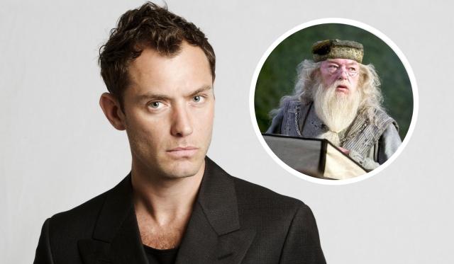 Jude Law Albus Dumbledore