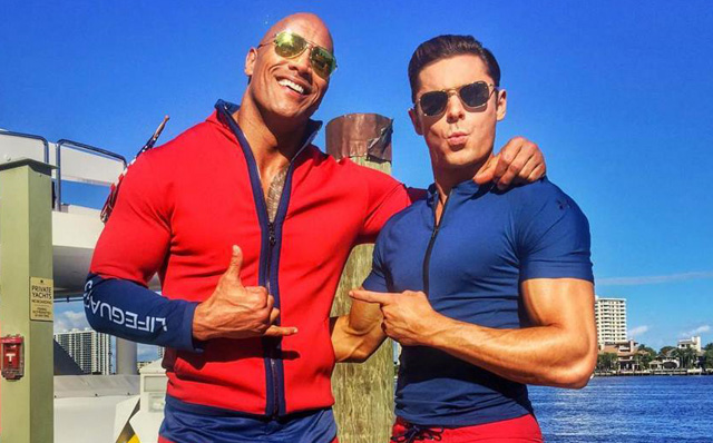 Dwayne Johnson Zac Efron