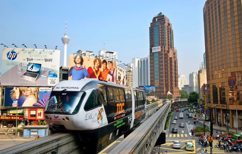 KL Monorail Shuttle Bus