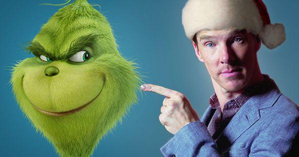 Benedict Cumberbatch The Grinch