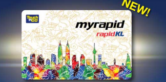 MyRapid TnG Card