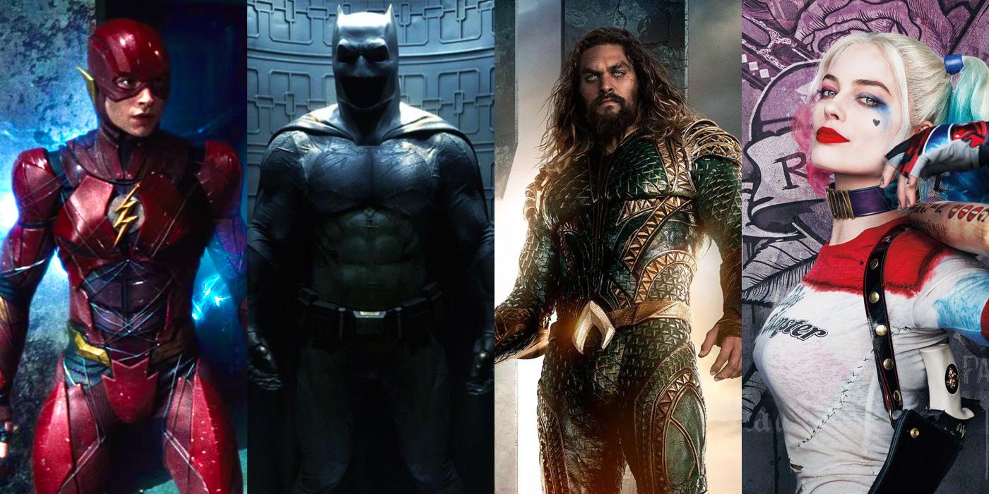 DC Movie Slate
