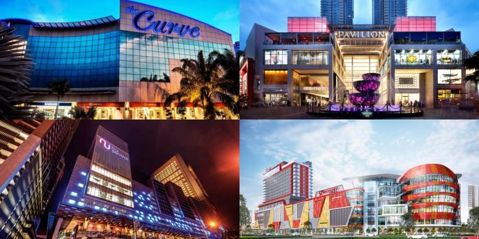 MRT Shopping Malls