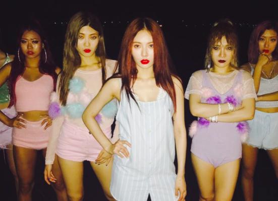 Source: HyunA's Instagram