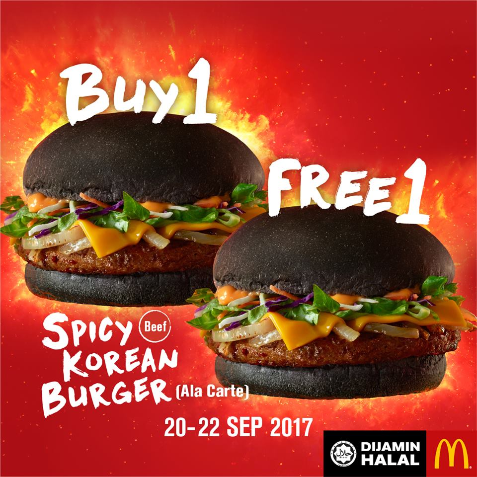 Spicy Korean Burger
