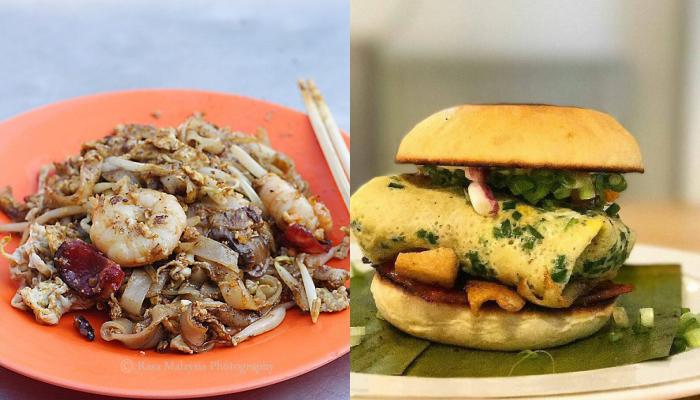 Char Kuey Teow Burger