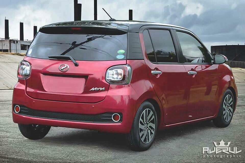 Myvi New Model 2018 >> Could This Be The New Next-Gen Perodua Myvi?