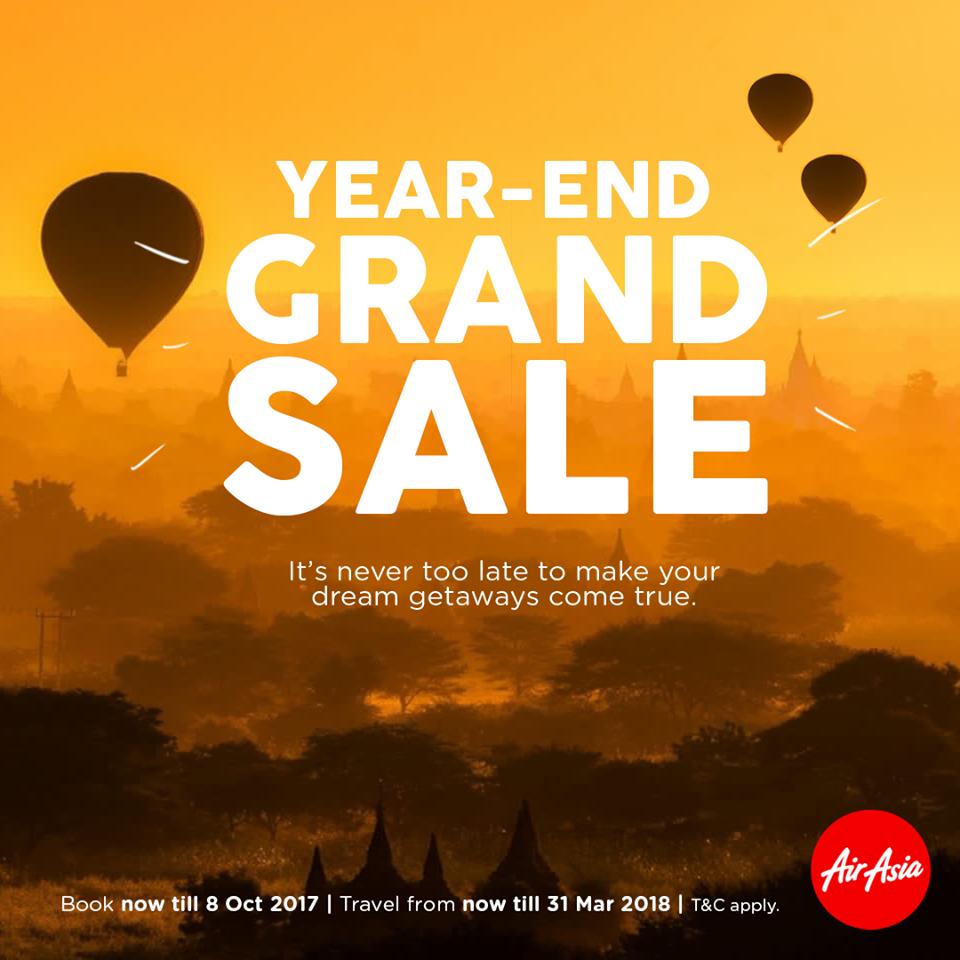 AirAsia Year-End Sale