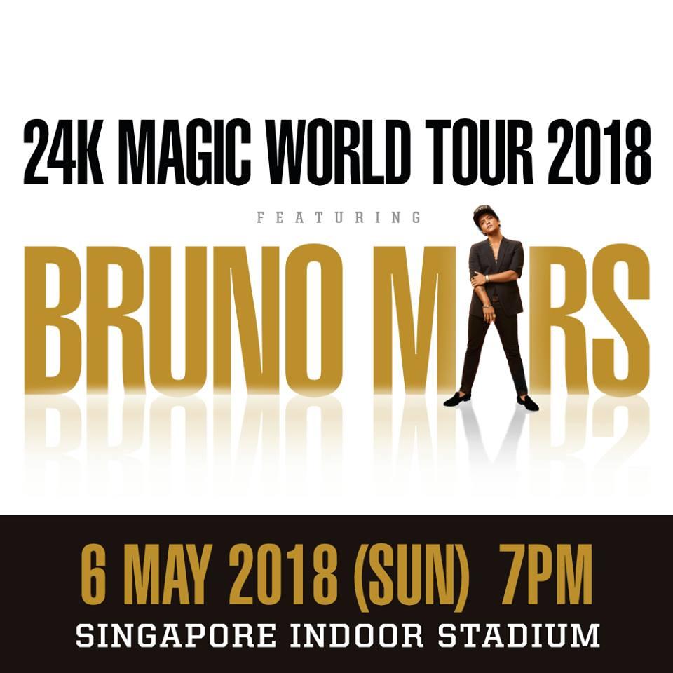 Bruno Mars Singapore