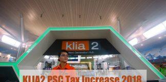 KLIA2 PSC Tax