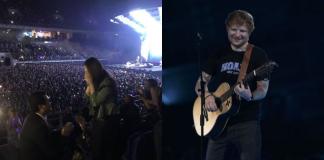 Ed Sheeran Marriage Proposal