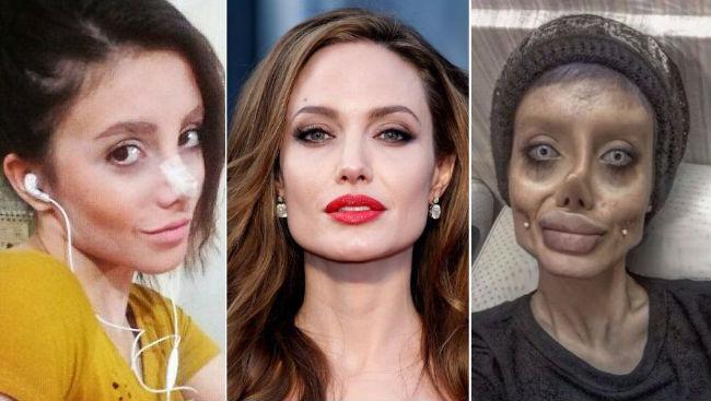 Sahar Tabar Instagram >> Angelina Jolie-wannabe Sahar Tabar Lied About Her Plastic Surgeries