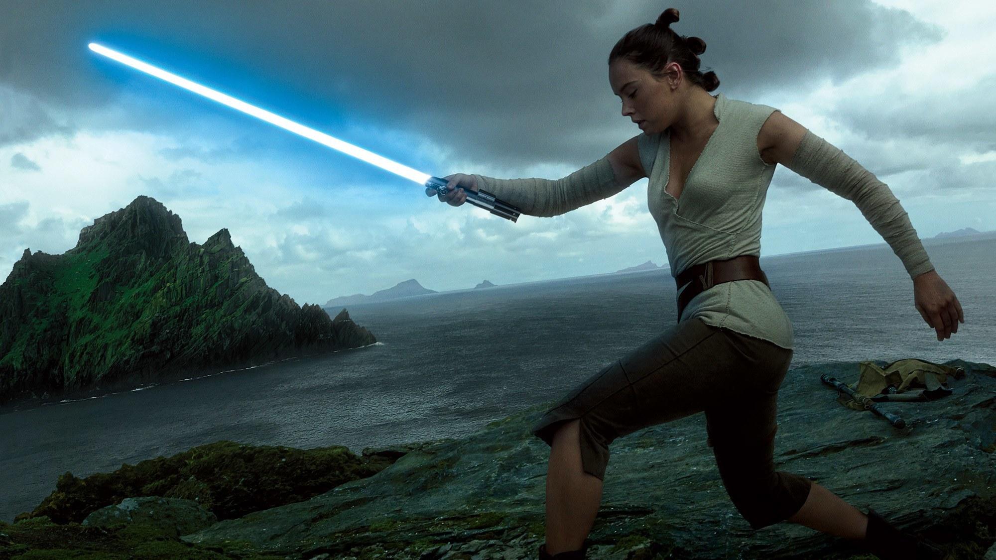 Star Wars: The Last Jedi Rey Training