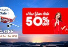 AirAsia New Year Sale
