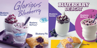 McDonald's Blueberry