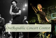 OneRepublic Contest