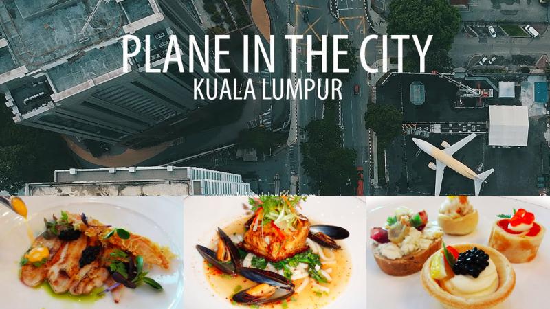 Resultado de imagen para Plane in the City malaysia