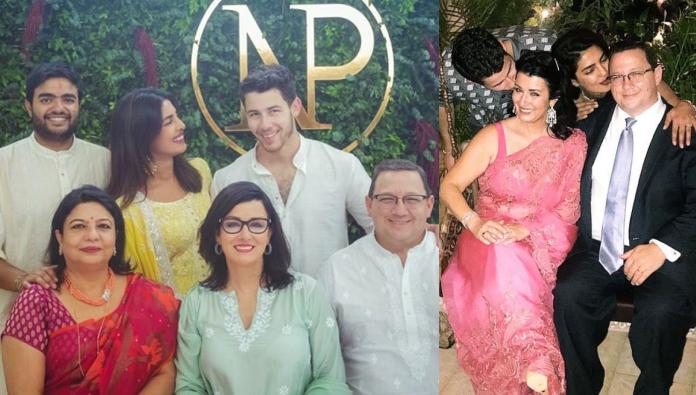 Nick Jonas Priyanka Chopra Joined By Families During Indian Ceremony