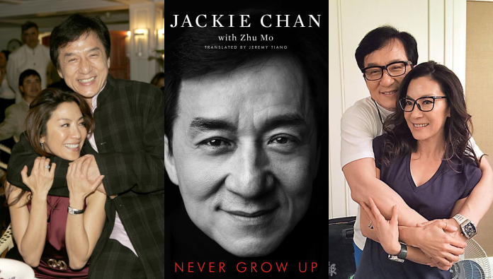 What Jackie Chan Said About Michelle Yeoh In His Revealing Memoir