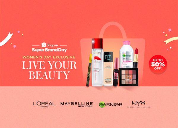 Shopee L'Oréal