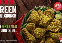 KFC Green Chili Crunch
