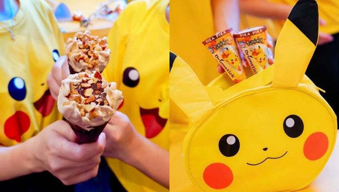 Pikachu Drumstick Ice Cream