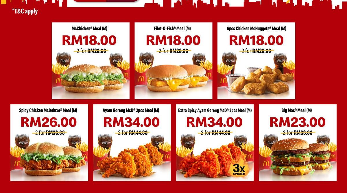 Mcdonald S Malaysia 10 10 Sale Rm10 Off Your Favourite Meals