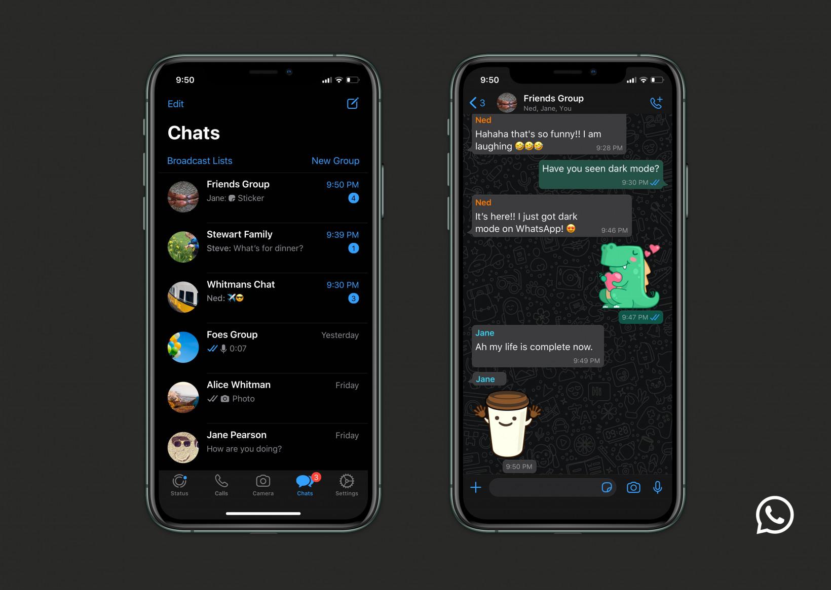 Hello Darkness, My Old Friend: WhatsApp Dark Mode Has Arrived 5