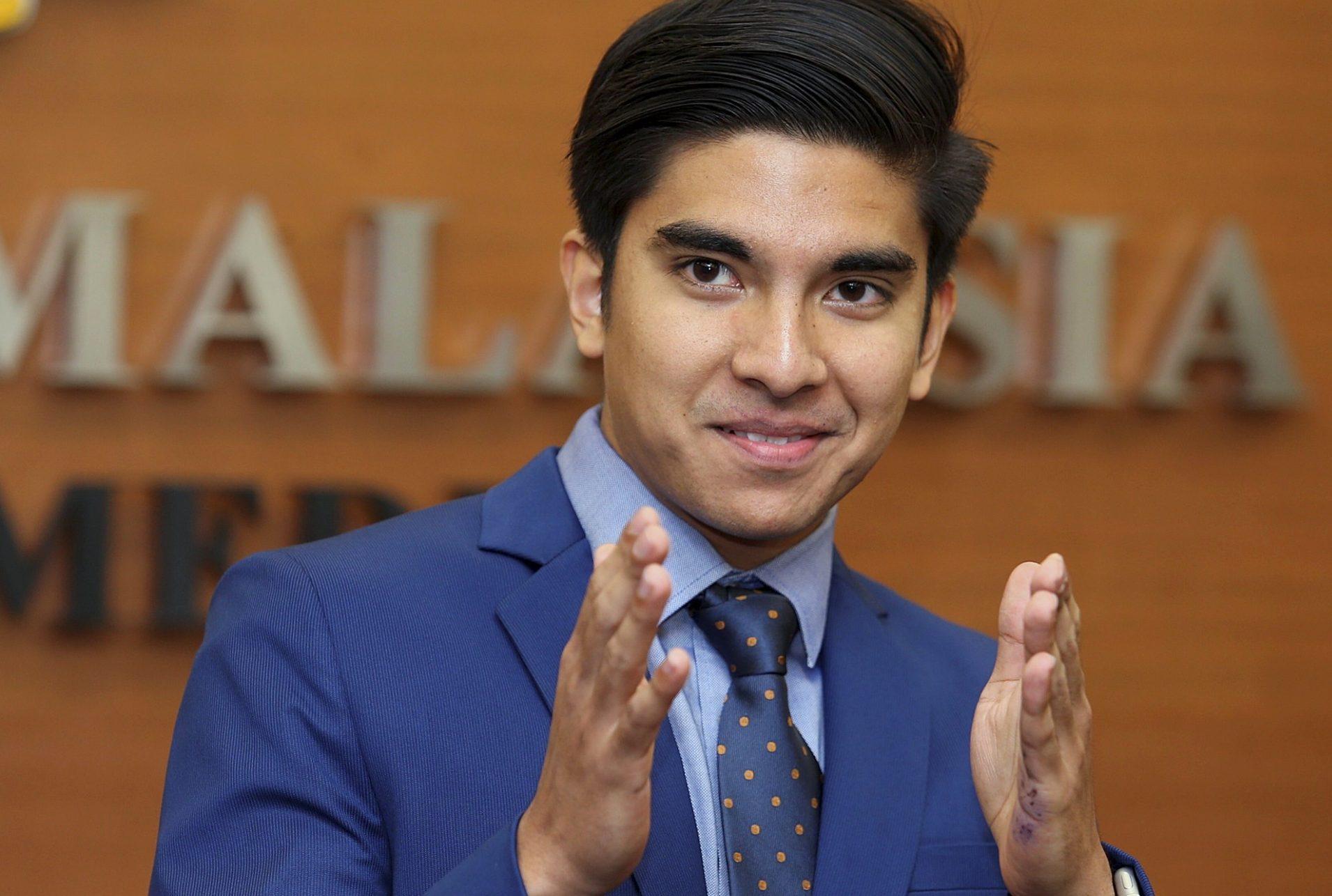Youth & Sports Minister,YB Syed Saddiq Syed Abdul Rahman