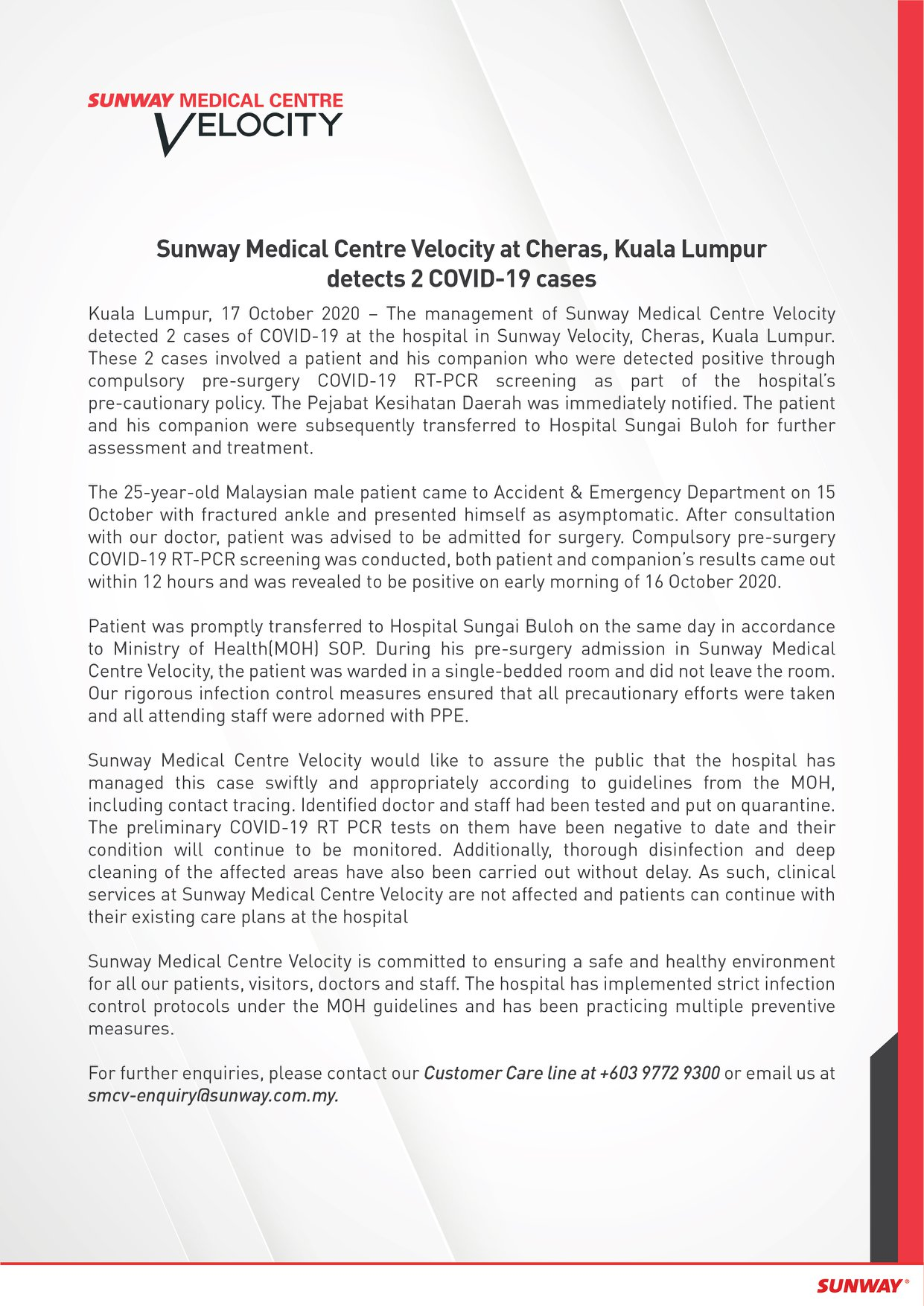 Sunway Medical Centre Velocity