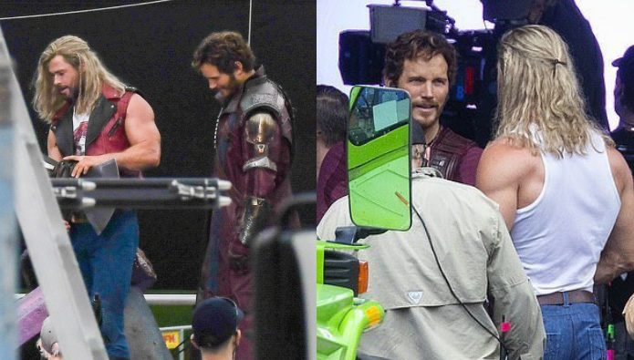 Thor: Love and Thunder production set photos reveal Nebula, Kraglin & more