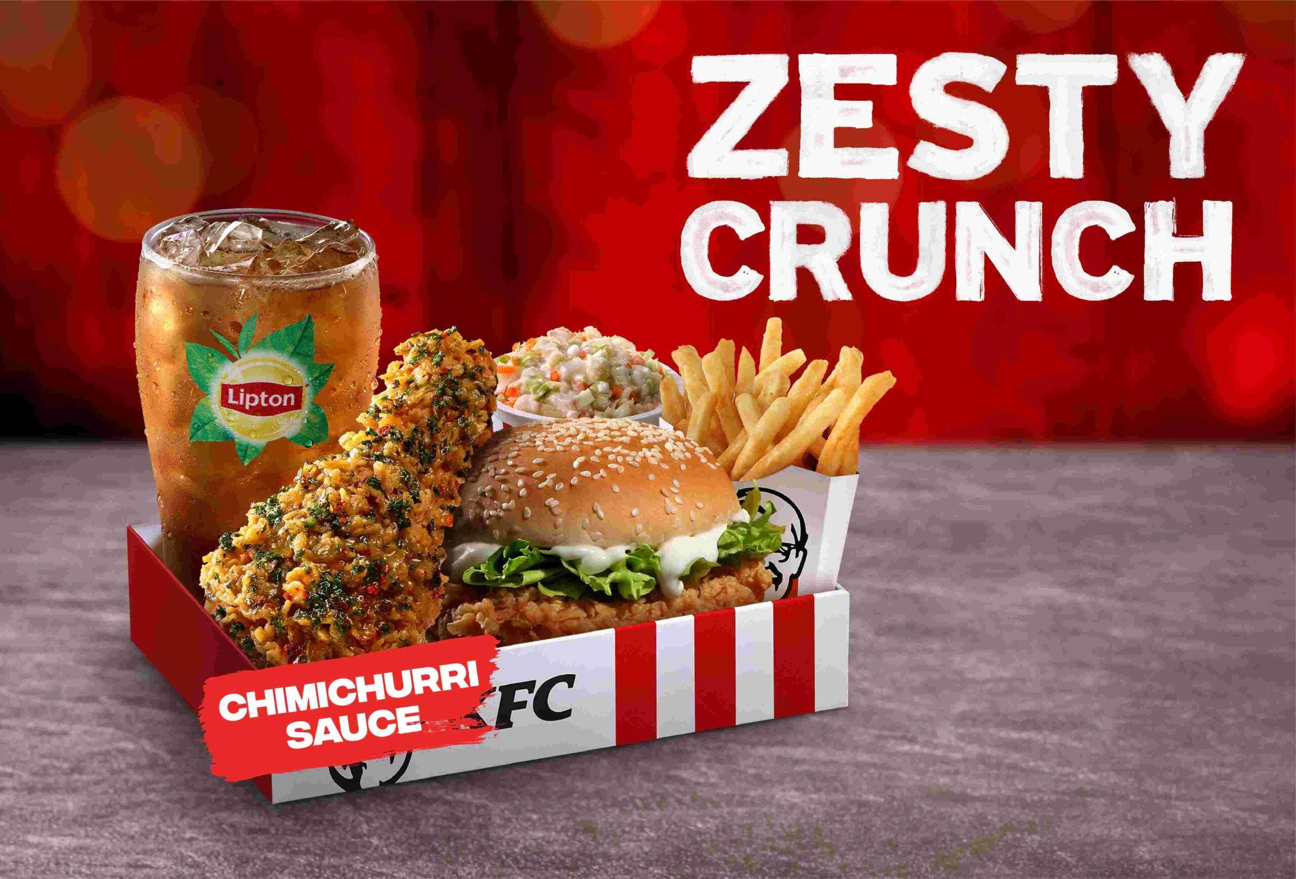 KFC Zesty Crunch